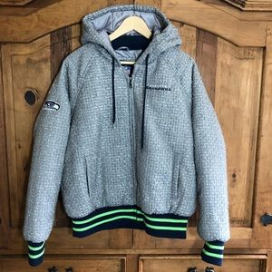 Women's NFL Seattle Seahawks Jacket Coat XL